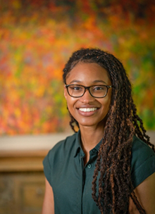 Doctoral student Lashanda Skerritt is a trainee in Infectious Diseases and Immunity in Global Health Program at the Research Institute of the MUHC