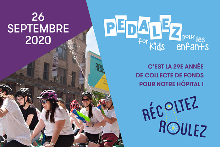 Pedal for Kids (August 31 - September 15, 2020)