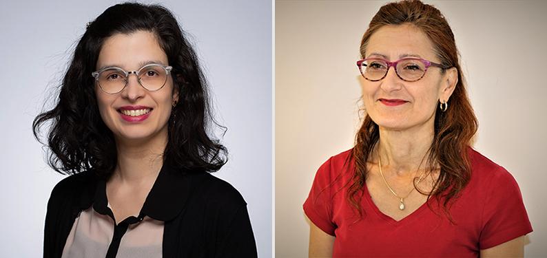 Postdoctoral fellow and lead author Marina Machado, PhD, and Dr. Sasha Bernatsky, senior scientist at the Research Institute of the MUHC