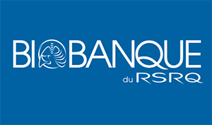 Biobank of the Quebec Respiratory Health Research Network (RSRQ) logo