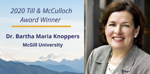 Bartha Maria Knoppers is a researcher in the Child Health and Human Development Program at the Research Institute of the MUHC