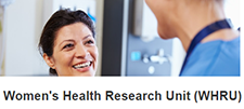 Women's Health Research Unit (WHRU) logo