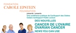 News You Can Use About Ovarian Cancer (September 21, 2016)