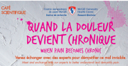 Café Scientifique : When pain becomes chronic (November 8, 2016)