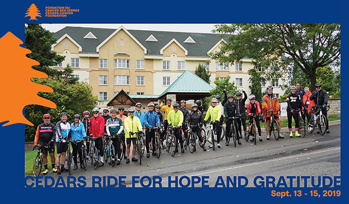 Cedars Ride for Hope and Gratitude