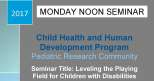 Pediatric Research Seminar (January 30, 2017)