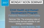 Pediatric Research Seminar (February 27, 2017)