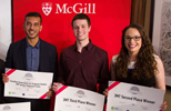 Trainees from the Research Institute of the McGill University Health Centre thrive in three-minute thesis competition
