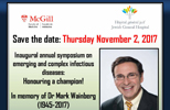 Inaugural annual symposium on emerging and complex infectious diseases (November 2, 2017)