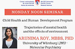 Pediatric Research Seminar (April 9, 2018)
