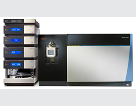 Thermo Scientific Ultimate 3000 HPLC and Orbitrap Fusion MS: Quadrupole-Orbitrap-Linear ion trap hybrid