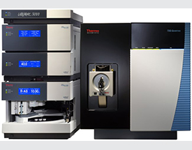 Thermo Scientific Ultimate 3000 HPLC and TSQ Quantiva MS: Triple Stage Quadrupole