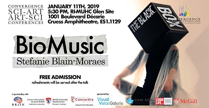 2019 Black Box Neuroscience and Arts Talk – Biomusic (January 11, 2019)