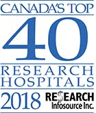 Canada's Top 40 Research Hospitals 2018