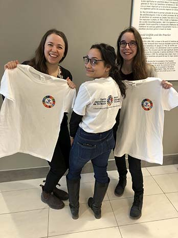 Students attending the 7th Annual TB Research Day (March 22, 2019)