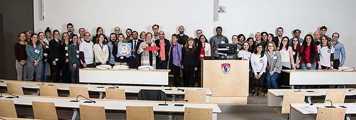 Attendees of the 7th Annual TB Research Day (March 22, 2019) Photo credit  Robert Derval