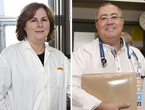 Drs. Nicole Bernard (left) and Jean-Pierre Routy are members of the Infectious Diseases and Immunity in Global Health Program at the Research Institute of the MUHC