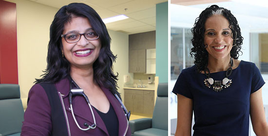 Dr. Kaberi Dasgupta (left) is a researcher in the Metabolic Disorders and Complications Program, and co-author Dr. Meranda Nakhla is a researcher in the Child Health and Human Development Program at the Research Institute of the MUHC