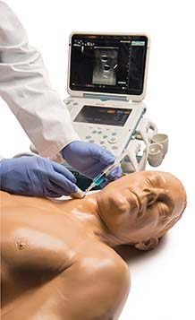 Blue Phantom - Ultrasound Central Line Training Model with Auto Pump