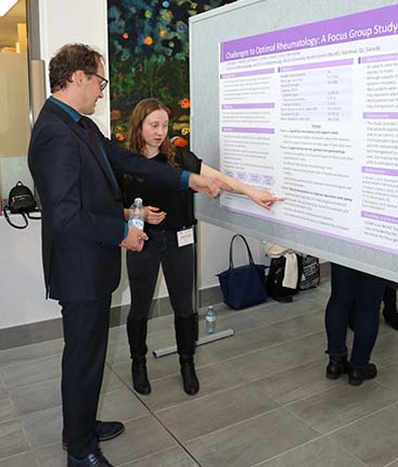 Participants in the third Annual Research Day held on May 14, 2019, by the Centre for Outcomes Research and Evaluation at the Research Institute of the MUHC