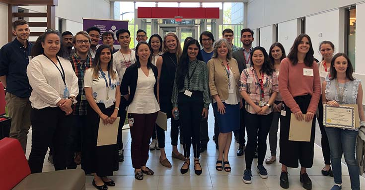 Participants in the fifth Annual Child Health Research Day held on June 10, 2019, at the Research Institute of the MUHC