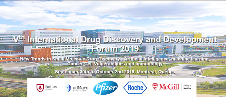 Vth International Drug Discovery and Development Forum 2019 (September 30 - October 2, 2019)