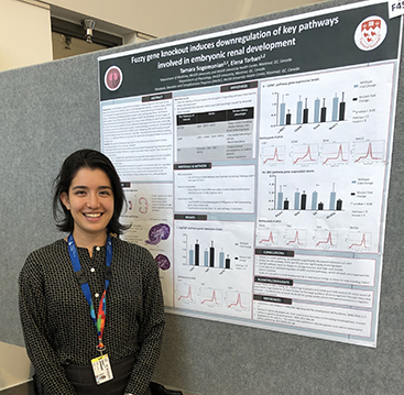 Poster presentations at the 2019 RI-MUHC Summer Student Research Day
