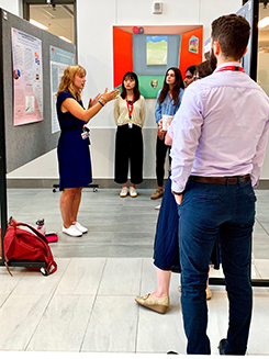 Undergraduates, visiting students and incoming graduate students participated in the RI-MUHC Summer Student Research Day