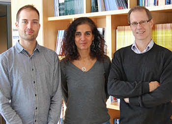 Dr. Simon Papillon-Cavanagh, Dr. Nada Jabado and Dr. Jacek Majewski have worked together on more than one research project.