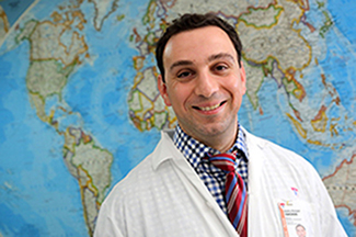 Cedric Yansouni, MD, is a researcher in the Infectious Diseases and Immunity in Global Health Program at the Research Institute of the MUHC.