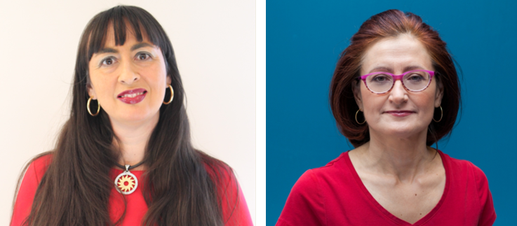 Drs. Giada Sebastiani (left) and Sasha Bernatsky (right) are members of the Infectious Diseases and Immunity in Global Health Program (IDIGH) at the Research Institute of the MUHC