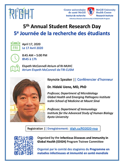 IDIGH Research Day 2020 (April 17, 2020)