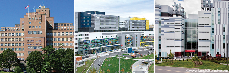 Glen and the Montreal General Hospital sites of the MUHC
